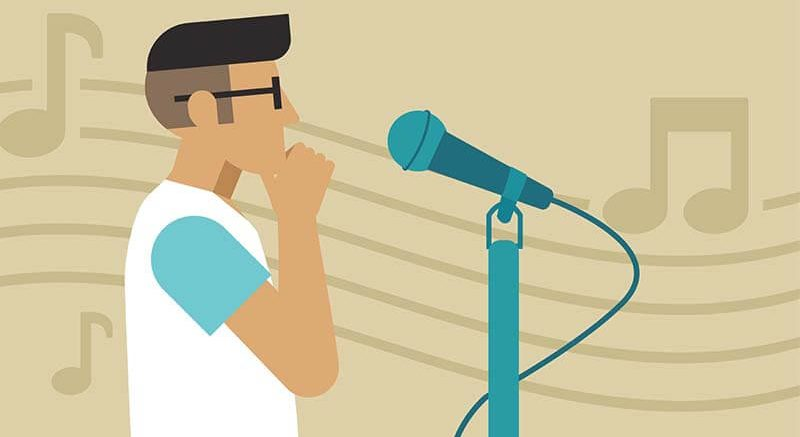ฝึกร้องเพลง